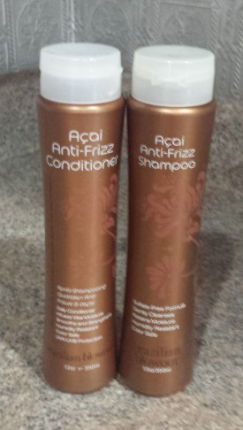 Acai Anti-Frizz Hair Products