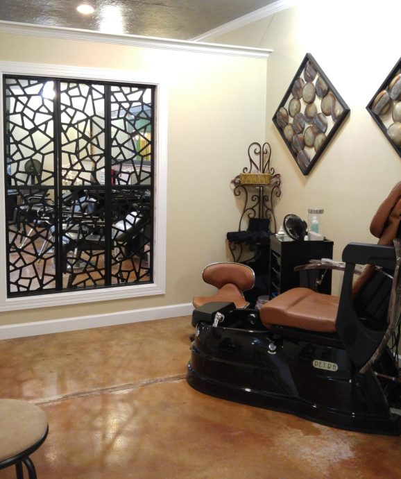 Relax in comfort at Nails by Tyler