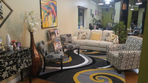 Relax in our new waiting area!