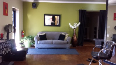 Enjoy our comfortable chairs and sofas while waiting for your appointment