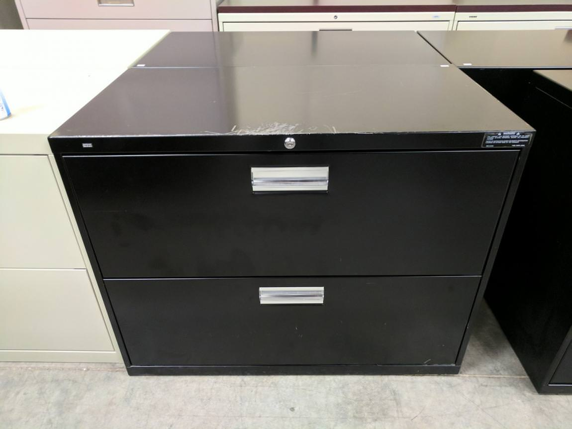 Images of 2 Drawer HON Lateral File Cabinet