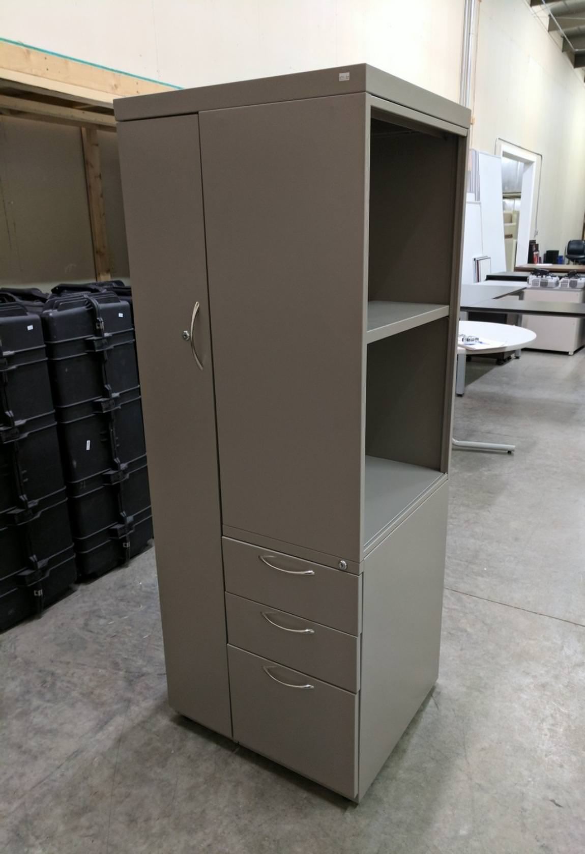 computer chair with arms folding nepal images of putty steel wardrobe storage cabinet