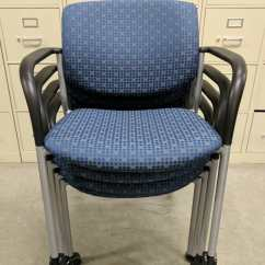 Stackable Rolling Chairs Chair And 1 2 Recliners Images Of Sitonit Stacking Blue Guest
