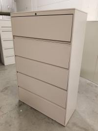 Images Great Openings 5 Drawer Putty Lateral File Cabinet ...