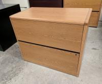 Images Hon Oak Laminate 2 Drawer Lateral Filing Cabinets ...