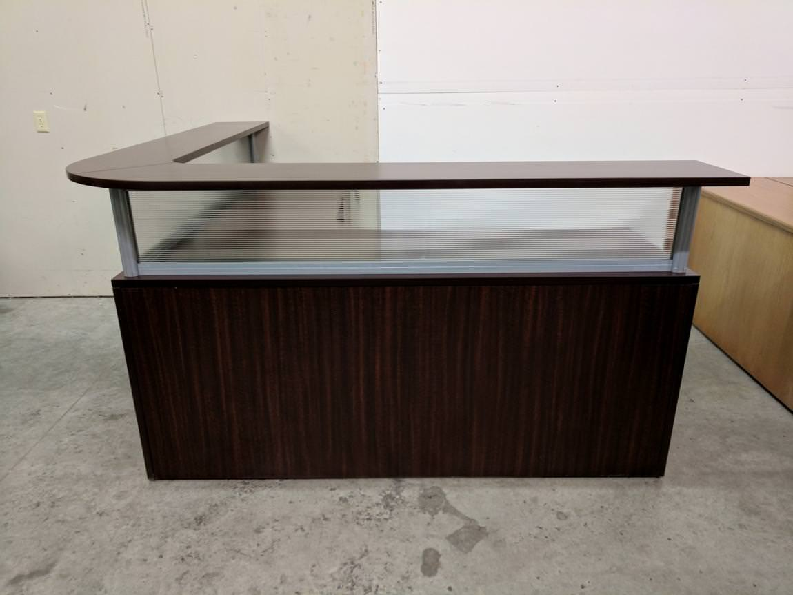 Images of LShape Reception Desk with Transaction Counter