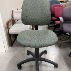 Ergonomic Chair Without Arms Table And Chairs Garden Set B M Images Of Green Rolling Office