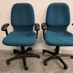 Teal Computer Chair Plastic Chairs For Kids Images Of Steelcase Mid Back Rolling Office
