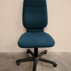 Office Chair Without Arms Covers Rental Images Of Teal Steelcase High Back Rolling
