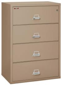 Images of 4 Drawer Fireproof Lateral File Cabinet - 38 Inch