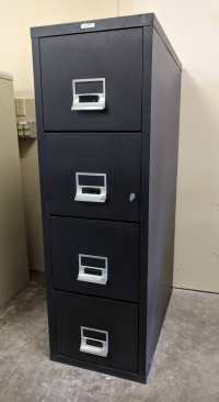 Images of Victor 4 Drawer Fireproof Letter Size File Cabinet