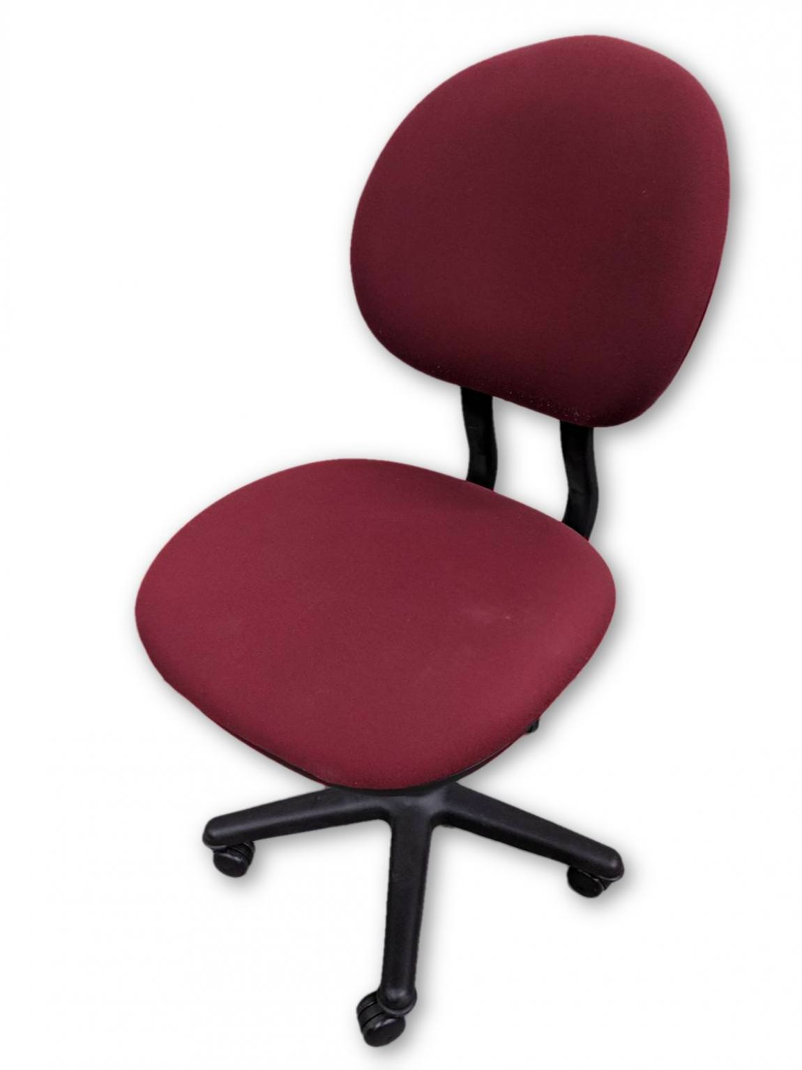 office chair without arms pub style table and set images of steelcase red rolling