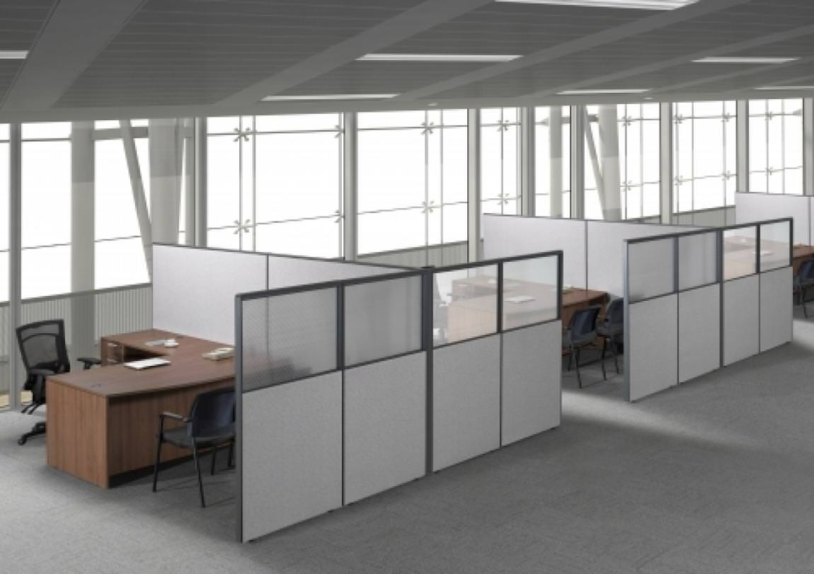 Images of Harmony Collection SpaceMax Cubicle Desk