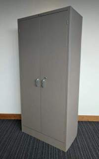 Tan Aurora Storage Cabinet  36 Inch Wide - Madison ...