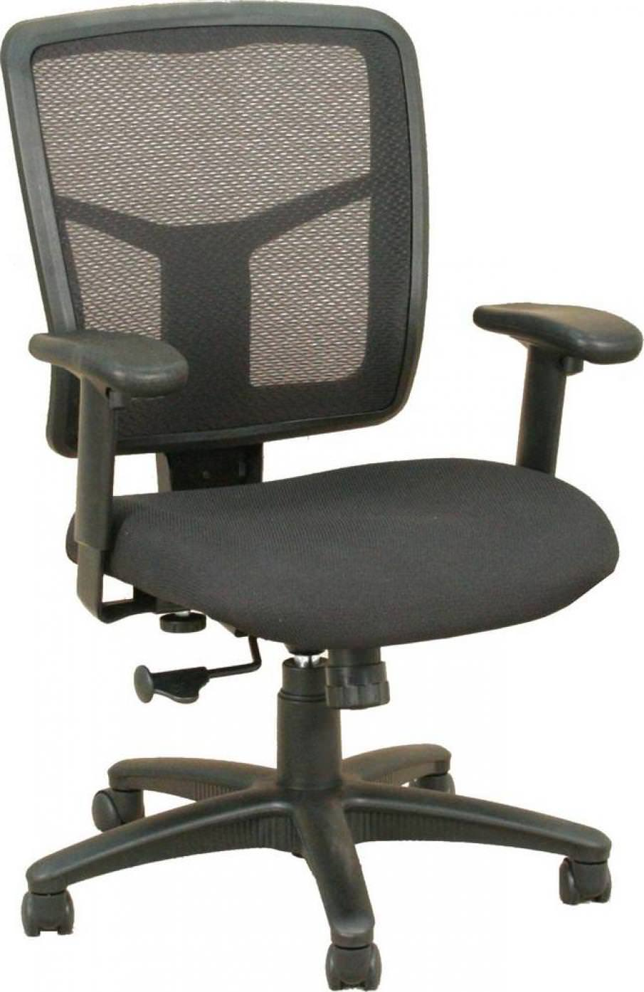Black Rolling Office Chair