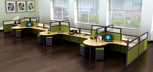 RSI Furniture  Refurbished Cubicles  Office Furniture