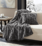 Shaggy Fur Throw