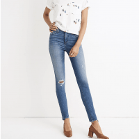 Madewell 10″ High-Rise Skinny Jeans: Drop Step-Hem Edition