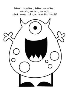 Letter Monster Swatter  madisonsstrategieswebsite