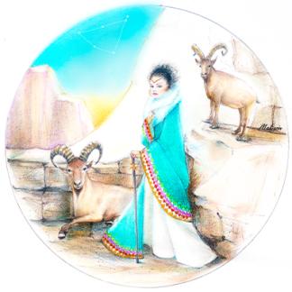 Zodiac Woman Capricorn