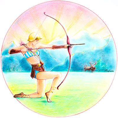 Zodiac Woman Sagittarius