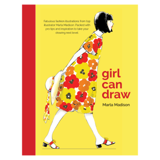 Cover of Girl Can Draw