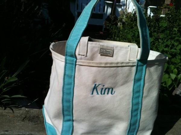 Clean L. Bean Canvas Bag Madisonzanecreations