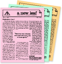 A New Leaf — The Newsletter of MA
