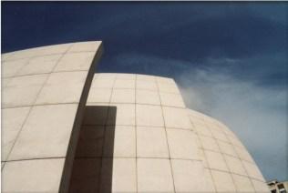 A modern church.