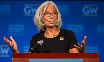 Christine Lagarde at George Washington University