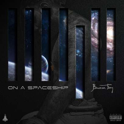 Madjack Ent . Burna Boy releases promo banner for his new album On A Spaceship