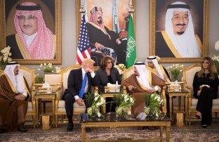 Trump . Trip to Saudi Arabia 3