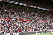 Man U . Old Trafford crowd