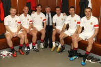 Man U . Reunion inside Man U dressing room
