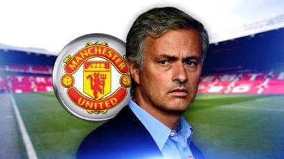 Jose Mourinho . Man United Old Trafford