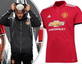 United . Man Utd reveals new kit 2017.2018 . 4