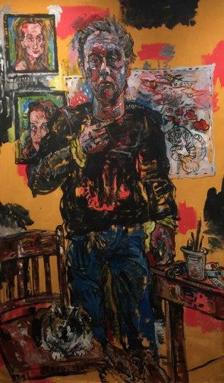 Gary-Mayer-Self-Portrait-Green-Kill