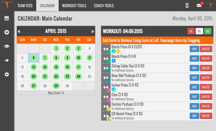 MadLab Performance Team Buildr Online Workout Program Sample