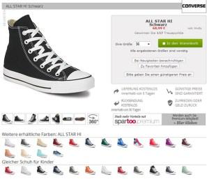 Schuhe Produktansicht