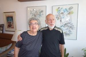 Ida and Aba Taratuta November 2012 Haifa