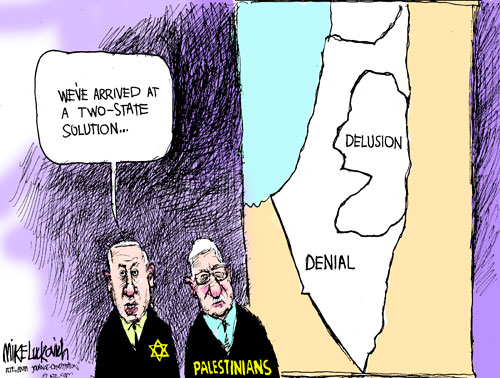 Two-State Solution by MIKE LUCKOVICH