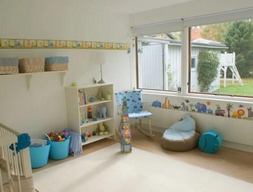 Williams babyværelse - dyretema
