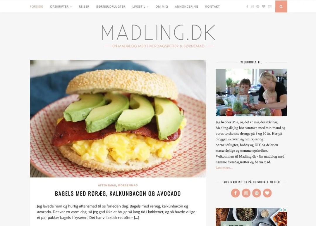 Madling.dk har fået nyt design
