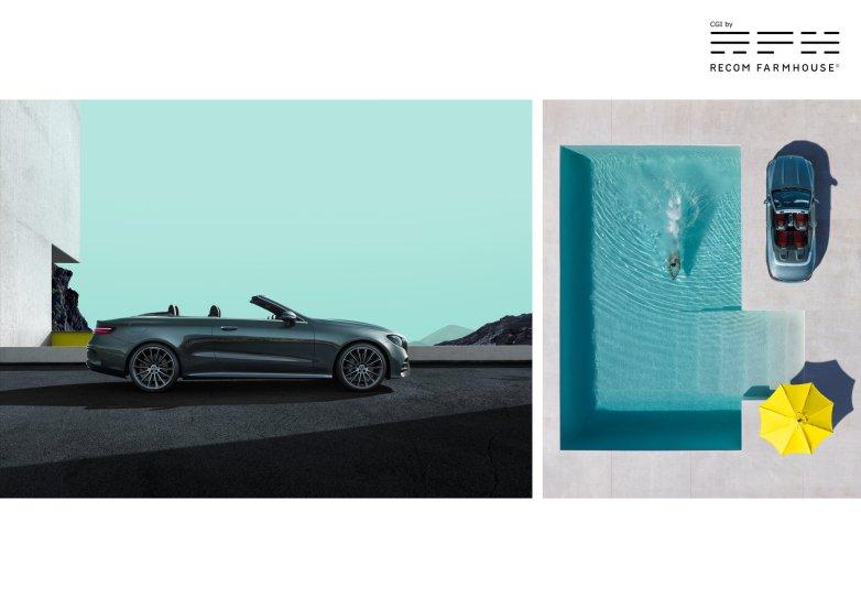 Mercedes with Nadav Kander