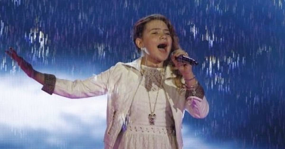 Amazing 11-Year-Old Shows She Has The Talent To Sing the ...