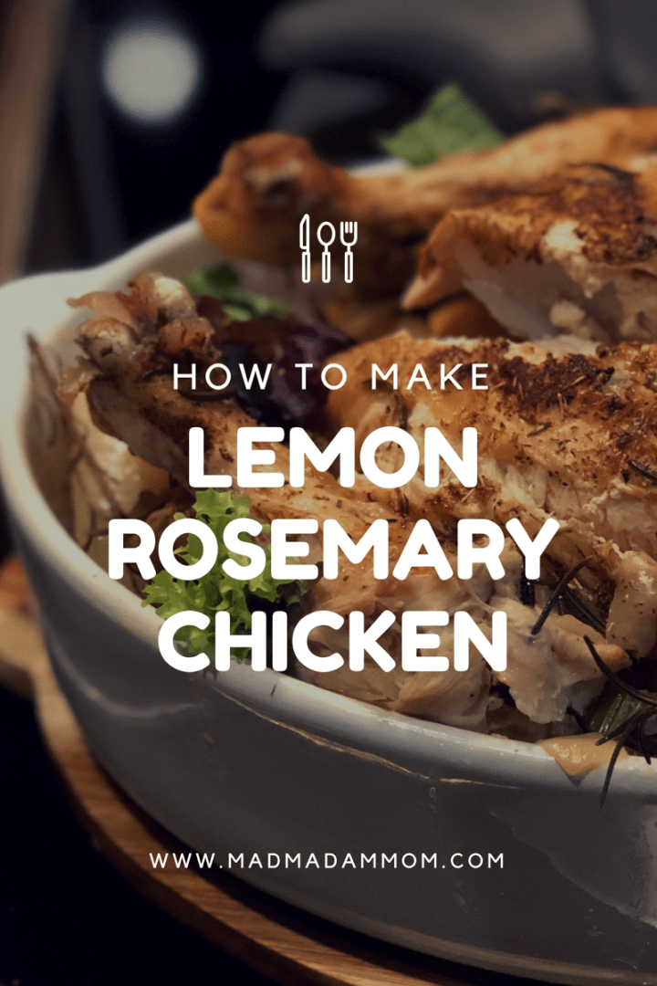 Food: Instant Pot – Lemon Rosemary Chicken