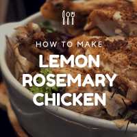Food: Instant Pot - Lemon Rosemary Chicken