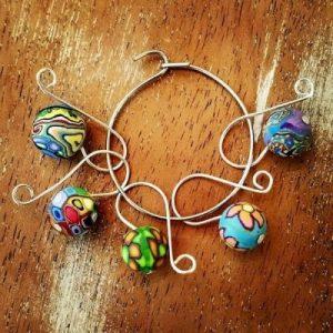 Crochet & Knit Stitch Markers - Set of 5