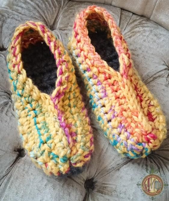 Crochet Pattern Ugly Slippers