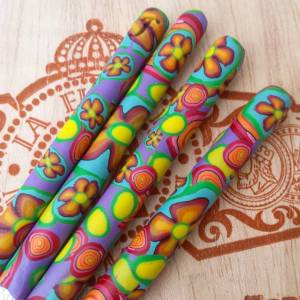 Love Handle Crochet Hook - Hippie Sky